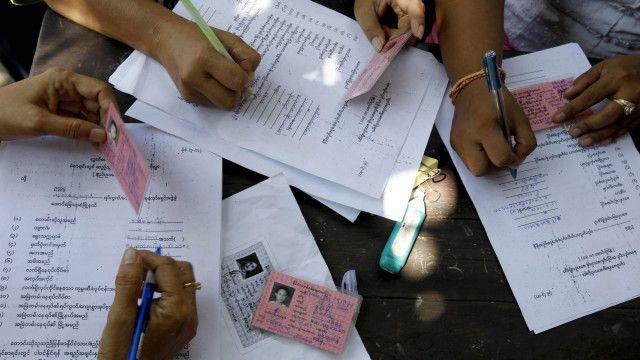 myanmar voters