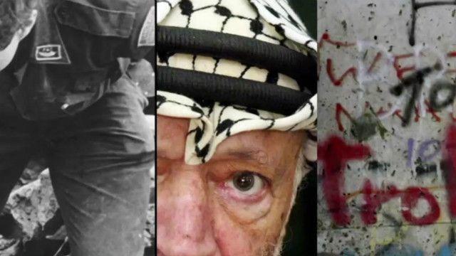 Ảnh cảnh phá tường Berlin, lãnh tụ Palestin ông Yasser Arafat và động đất ở Colombia