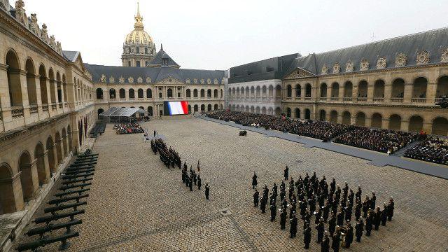 Lễ tưởng niệm nạn nhân tại Paris