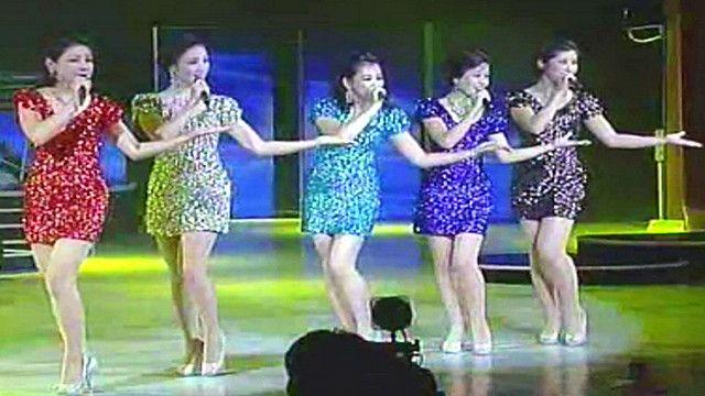 Ban nhạc nữ Mẫu Đơn Phong từ Bắc Hàn