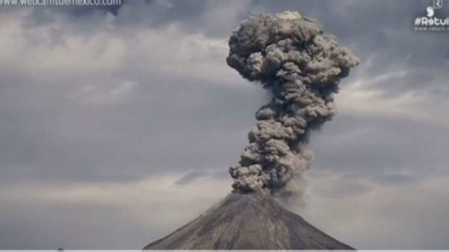 Мексиканский вулкан