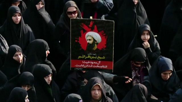Демонстрации в Иране после казни шиитского проповедника