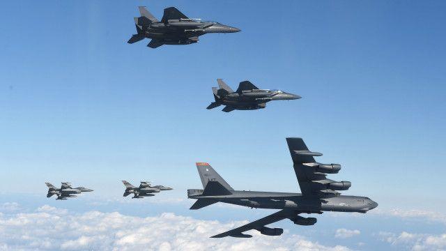 بی 52 بمبار طیارہ