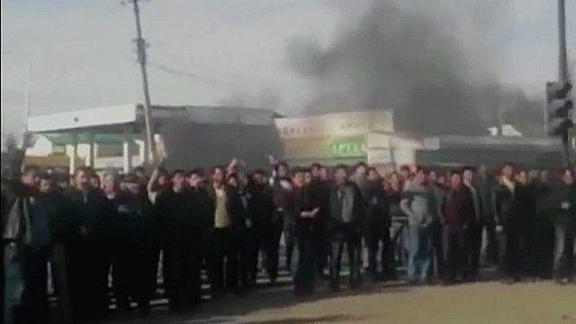 Столкновения в Азербайджане