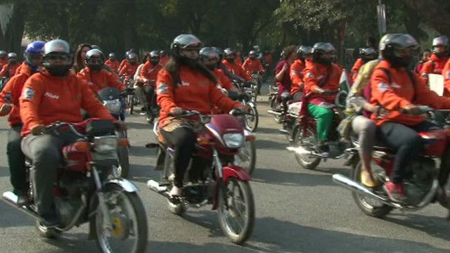 Pakistan women on wheels