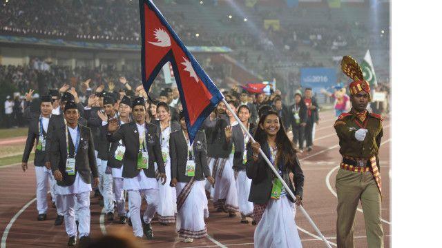 दक्षिण एसियाली खेलमा नेपाली खेलाडी