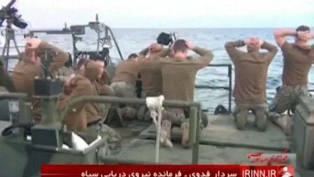 Задержание американских военных у Ирана