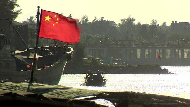 Quốc kỳ Trung Quốc trên đảo Hải Nam