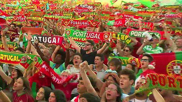 فرح وغضب من مشجعي فريقي البرتغال وفرنسا