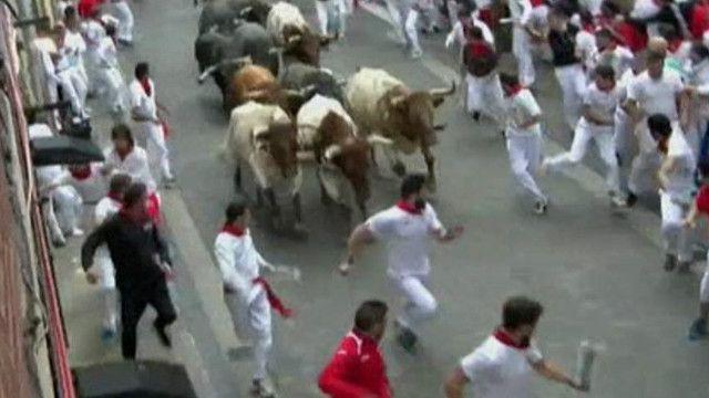 бігом від биків