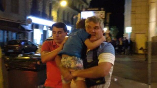 Паніка в Ніцці - кадри після нападу