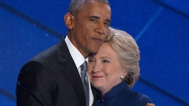 Обама і Клінтон