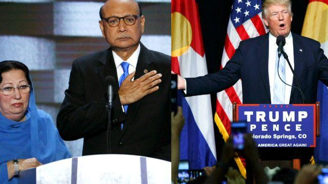 خلاف بين ترامب ووالدة جندي أمريكي مسلم