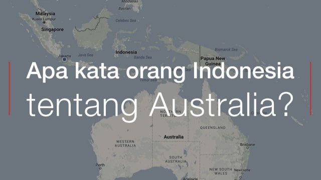 survey australia indonesia