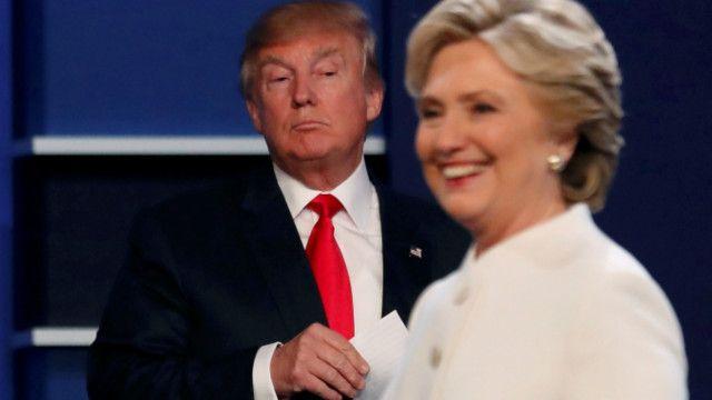 Клінтон і Трамп