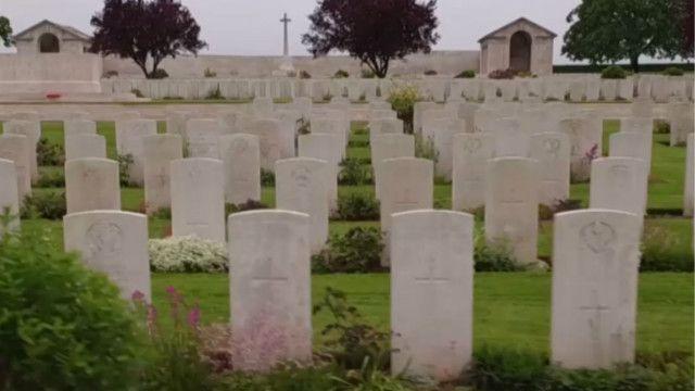Вшанування загиблих у битві на Соммі