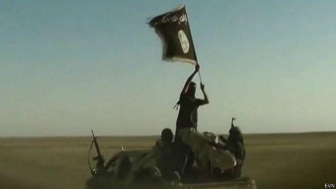 Estado Islâmico / Crédito: EVN