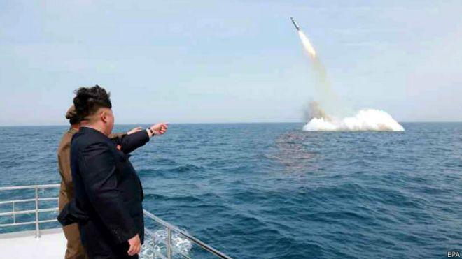Image result for pruebas de misiles corea