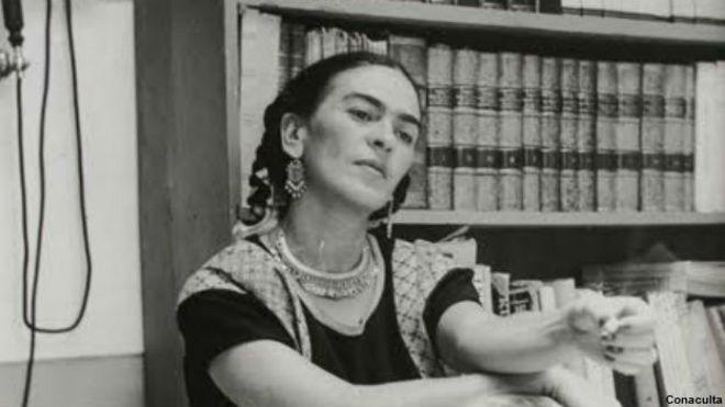 Frida Kahlo. Foto: cortesía Consejo Nacional para la Cultura y las Artes (Conaculta)