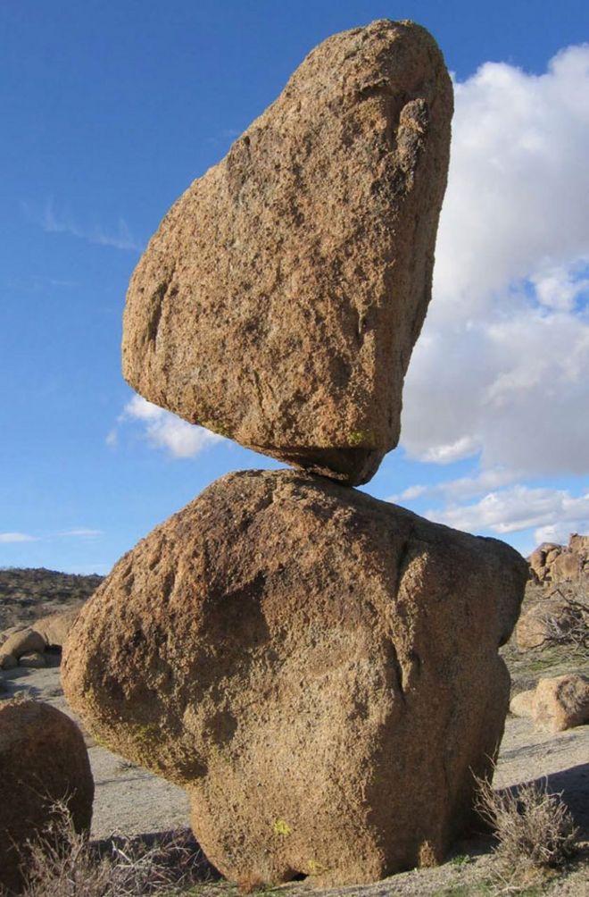 Roca en Nevada.