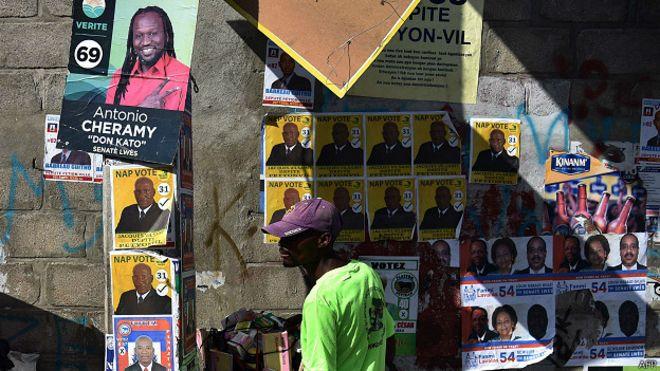 Elecciones, Haiti