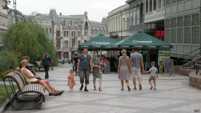 В марте Грузию посетили около 300.000 туристов