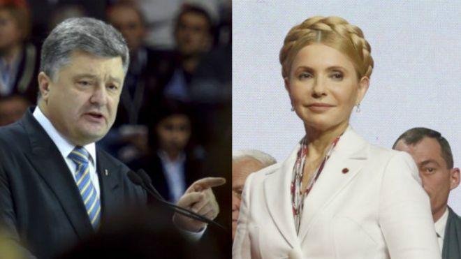 Картинки по запросу тимошенко и порошенко