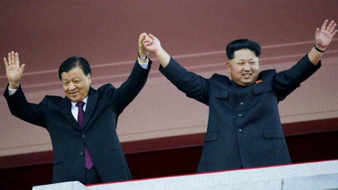 Resultado de imagen para china y corea del norte