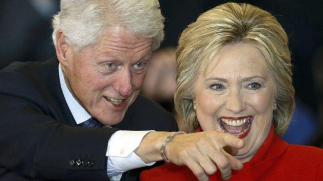 билл и хиллари клинтон фото