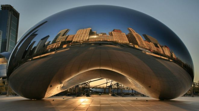 """Cloud Gate"", de Anish Kapoor"